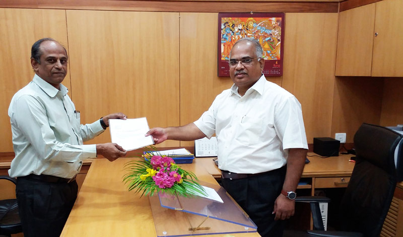 Dr. G Padmanabham has assumed the charge of Director, ARCI on 07.10.2016