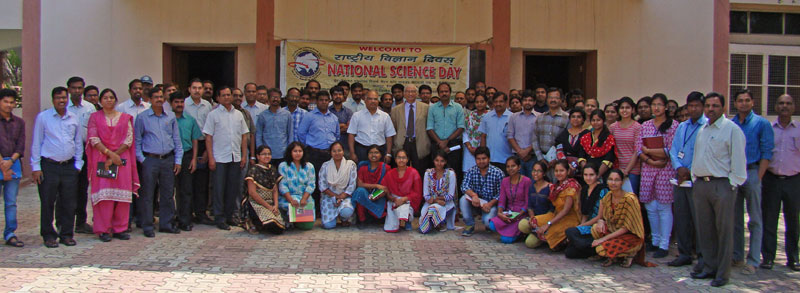 Group Photo with Prof. K S Ratnakar